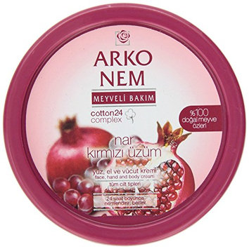 Arko Nem Pomegranate and Red Grape Face Hand and Body Cream