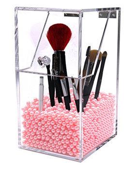PuTwo Make Up Brush Holder Dustproof 5mm Thick Acrylic Storage Box