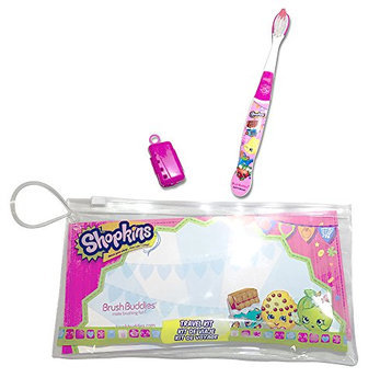 Brush Buddies Shopkins Oral Travel Kit