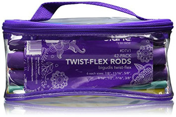 Diane By Fromm 42-pack Twist-flex Rods