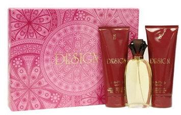 Design By Paul Sebastian For Women. Set-eau De Parfum Spray 3.4 Ounces & Body Lotion 6.8 Ounces & Shower Gel 6.8 Ounces
