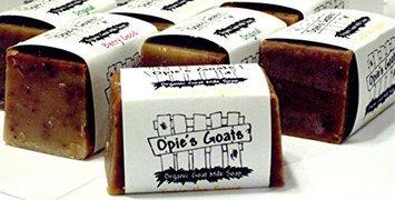 Organic Goat Milk Soap Green Tea & Tea Tree Oil Handmade Soap