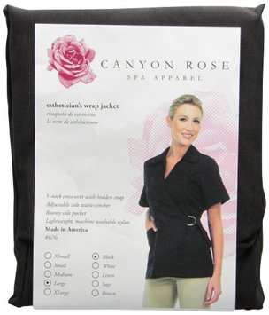 Canyon Rose Esthetician's Wrap Jacket