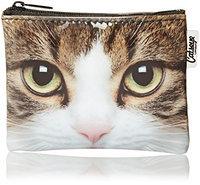 Catseye Tabby Cat Cosmetic Purse