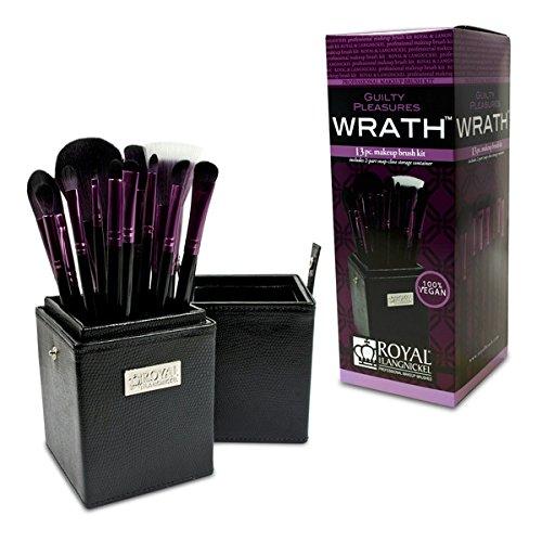 Royal Brush Guilty Pleasures Wrath Cosmetic Brush Box Kit