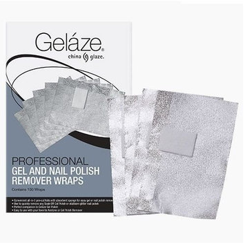 Gelaze Professional Gel and Nail Polish Remover Wraps