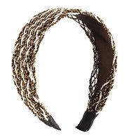 Uxcell Nylon Rope Mesh Coated Hair Hoop Headband