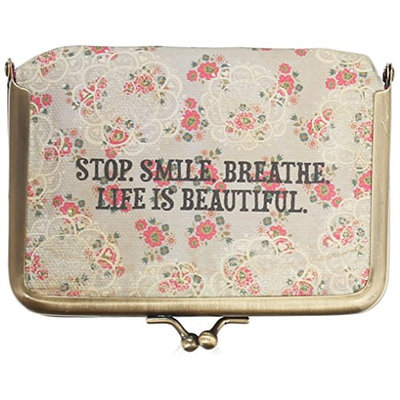 Natural Life Pill Pouch Stop Smile Breathe