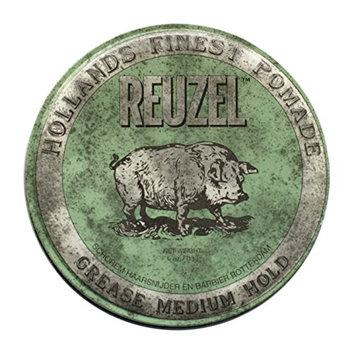 Reuzel Green Grease Medium Hold Pomade Hog 12oz