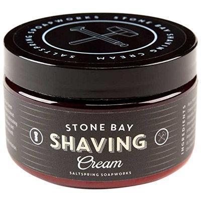 Saltspring Soapworks Stone Bay Natural Shave Cream