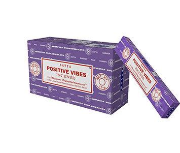 Satya Nag Champa Positive Vibes incense sticks-12packs x 15grams