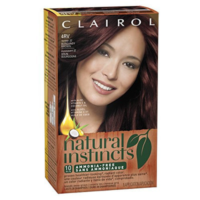 Clairol Natural Instincts Hair Color 32 Egyptian Plum Burgundy Brown 1 Kit  (Pack of 3)