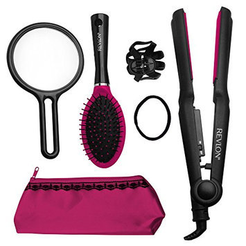 Revlon Rvst2152pk1 Sleek & Shine 1 Inch Straightener Gift Set