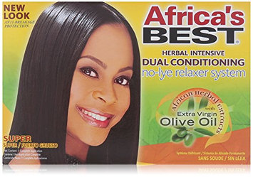 Africa's Best Super No-lye Dual Conditioning Relaxer System