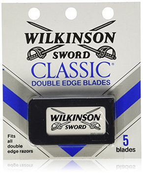 Schick Wilkinson Sword Double Edge Razor Blade Refills for Men - 5 Count  (Pack of 60)