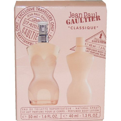 Classique Eau-de-toilette Spray and Perfumed Body Lotion Women by Jean Paul Gaultier