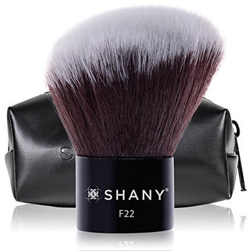 SHANY Angled Kabuki Blush & Bronze with Synthetic Bristles