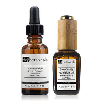 Dr Botanicals Bio Vitality Nutrition Oil and Advanced Light Serum Essence