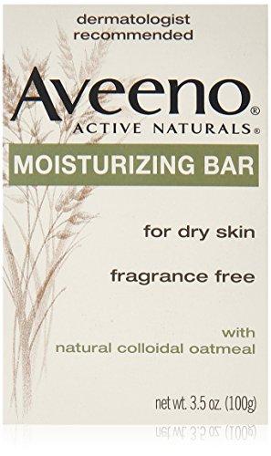 Aveeno Active Naturals Fragrance-Free Moisturizing Bar