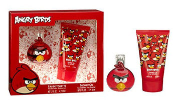 Air-Val International Angry Birds Red Eau de Toilette Spray Gift Set for Men