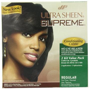 Ultra Sheen Supreme No Lye Regular Relaxer Kit