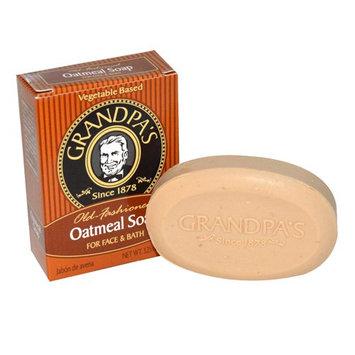 Grandpa's Old Fashioned Oatmeal Bar Soap for Face and Bath