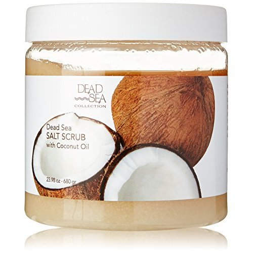 DEAD SEA COLLECTION Dead Sea Salt Scrub & Aromatic Coconut Oil