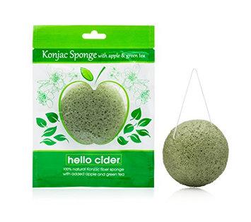 Konjac Facial Sponge by Hello Cider - 100% Natural Sponge