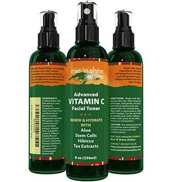 Vitamin C Facial Toner (8 oz) with Aloe Vera
