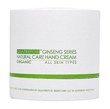 Quatrefoil Ginseng Series Natural Care Hand Cream Organic