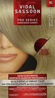 Vidal Sassoon Pro Series Hair Color 9c Light Cool Blonde 1 Kit (Pack of 3)
