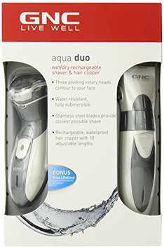 GNC Waterproof Hydro Duo Shaver and Clipper Twin Pack