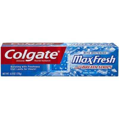 Colgate Max Fresh Toothpaste with Mini Breath Strips