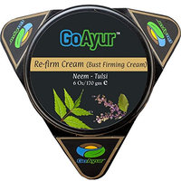 GoAyur Neem Tulsi Ayurvedic Breast Firming Cream - 6 oz. Herbal Anti-Agging bust and Natural Uplift