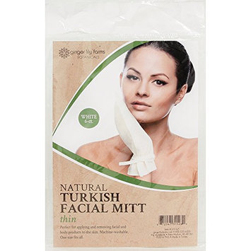 Ginger Lily Farm's Botanicals Natural Turkish Thin Facial Mitt