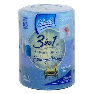 Glade 3 in 1 Candle Evening At Home