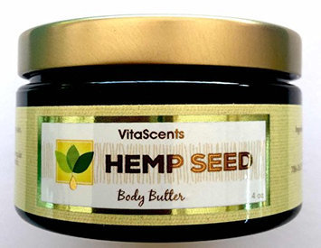 Hemp Seed Body Butter for dry skin