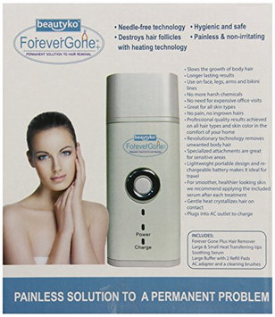 Beautyko Gone Sivan Travel Hair Removal System for All Skin Types