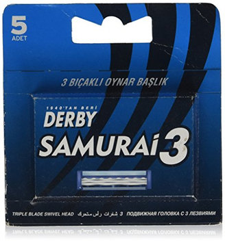Derby DE-D113 Samurai 3 Triple Blade Cartridge