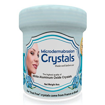 NeedCrystals Microdermabrasion Crystals Exfoliating Facial Scrub Skin Care Reduces Appearance of Acne Scars Blackheads Wrinkles Stretch Marks White Aluminum Oxide Crystals Microdermabrasion Scrub