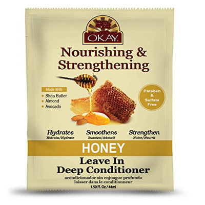 Okay Nourishing and Strengthening Leave in Deep Conditioner