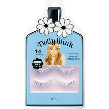 Koji Dolly Wink False Eyelashes #14 Natural Cute