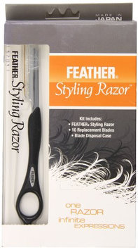 Feather Styling Razor with Standart Kit