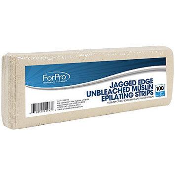 ForPro Unbleached Muslin Strip 3inch x 9inch 100