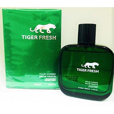 Cosmo Designs Cosmo Tiger Black Eau De Toilette Spray Perfume for Men