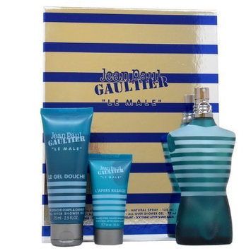 Jean Paul Gaultier Le Male Men 3 Piece Gift Set