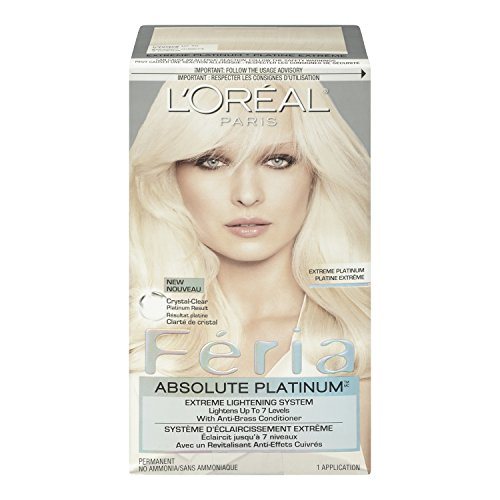 L'Oréal Feria Absolute Platinums Hair Color