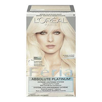 L'Oréal Feria Absolute Platinums Hair Color