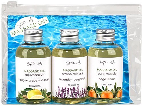Spa...ah Massage Oil Assorted Samples