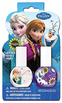 Frozen Nail Polish-on-Card Makeup Set